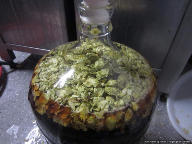 Dry hop in carboy